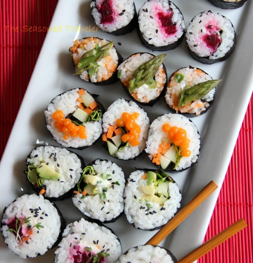 Vegetarian Sushi, Maki Style